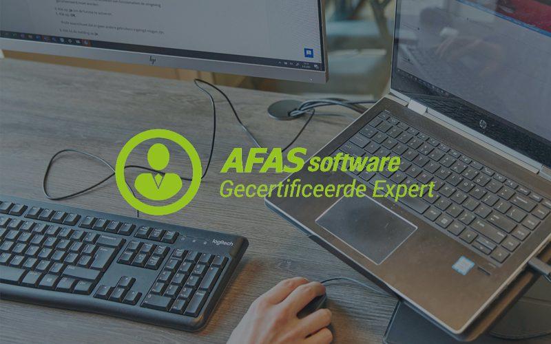 AFAS Expert certificaat